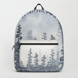 A Gray Forest Backpack