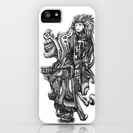 Overcoming the struggle to Paradise iPhone Case