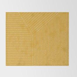 Lines (Yellow) Decke