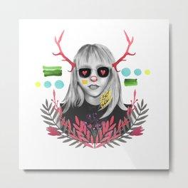 Eva Metal Print