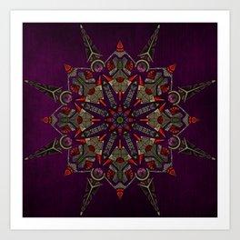 contain mandala Art Print