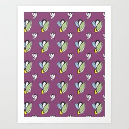 Purple Urple Print Art Print