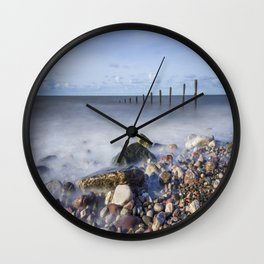 Pebble Beach Wall Clock