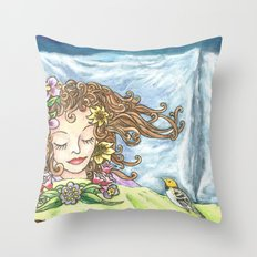 Spring Dreaming  Throw Pillow