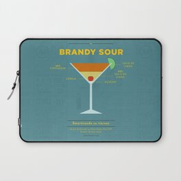 Brandy Sour - Cocktail by Smart Diseños Laptop Sleeve