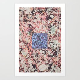Inner Molecules Art Print