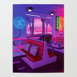 Cocktails And Dreams Poster