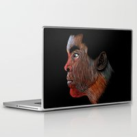 ali gulec Laptop & iPad Skins featuring Mohamed Ali Color by William