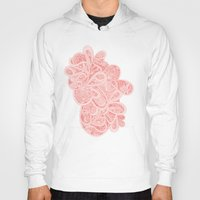 paisley Hoodies featuring Paisley by Laurie Mildenhall
