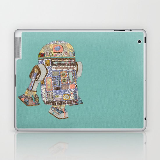 R2D2 Crashed Into A Flower Shop Laptop & iPad Skin