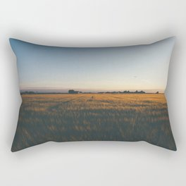 Golden Crops Rectangular Pillow