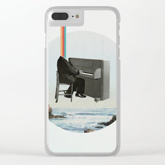 Pianocean Clear iPhone Case