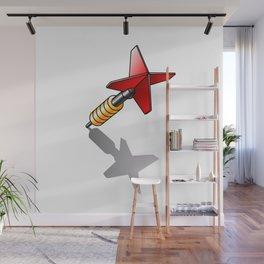 dart Wall Mural