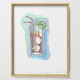 Soda, el Refresco Serving Tray