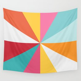 Color Wheel Wall Tapestry