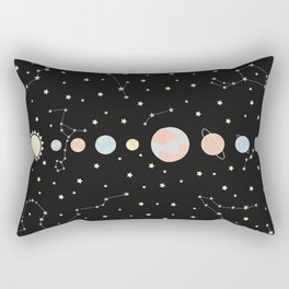 For You - Solar System Illustration Rectangular Pillow