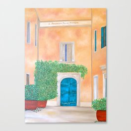 Summer in Rome Canvas Print