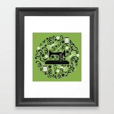 Sewing Essentials Framed Art Print
