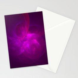 Magenta Illusion Stationery Cards