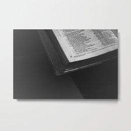 La biblia Metal Print