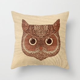Owlustrations 2 Throw Pillow