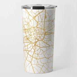 LONDON ENGLAND CITY STREET MAP ART Travel Mug