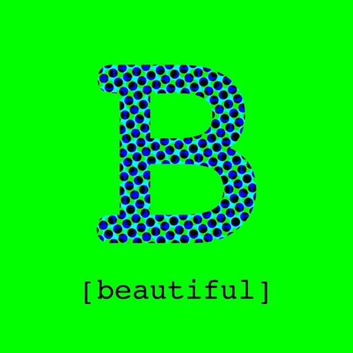 #B [beautiful] Duvet Cover