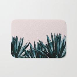 Pastel agave Bath Mat
