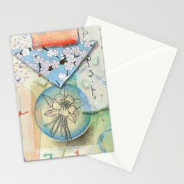 Nesting Columbine Stationery Cards