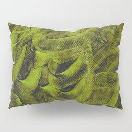 Pellucidar Sap Green Abstract Pillow Sham