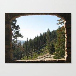 Nature Postcard Canvas Print