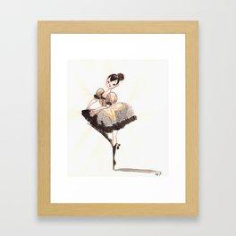 Vogue Ballerina! Framed Art Print