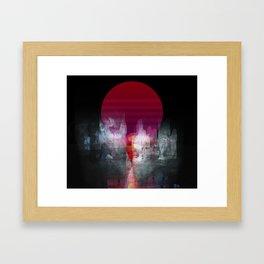 Disparity Framed Art Print
