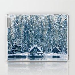 Winter's Cottage (Color) Laptop & iPad Skin