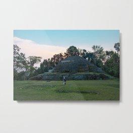 Jaguar Temple Metal Print