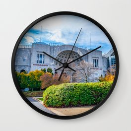 Ohio State Football Stadium Print Fall Wall Clock