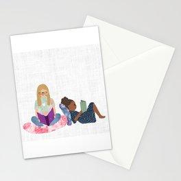 Kyra and Fiki Stationery Cards