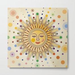Sunshine with Placidity Metal Print
