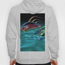 Absract Transparent Fish 3D Ultra HD Hoody
