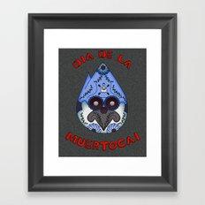 Dia De La Muertocai Framed Art Print