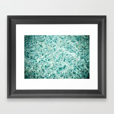 Midnight Pool Framed Art Print