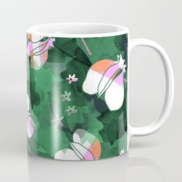 Cyclamen Spring Flowers Print Coffee Mug