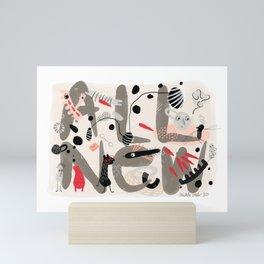 ALL NEW 1 Mini Art Print