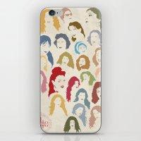 arab iPhone & iPod Skins featuring Arab Divas by QatatoPRINTS