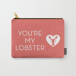 You're My Lobster - Rose Carry-All Pouch