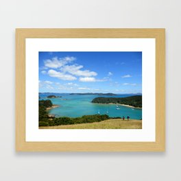 Otehei Bay Resort, Bay of Islands (New Zealand Collection) Framed Art Print