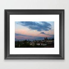 pastel shades for days Framed Art Print