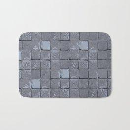 Cloisters in blue Bath Mat