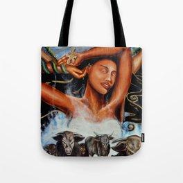 Goddess Hathor Tote Bag