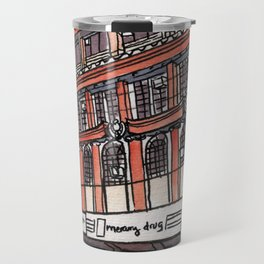 Philippines : Calvo Building Travel Mug
